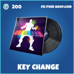 Key Change rare fortnite music pack