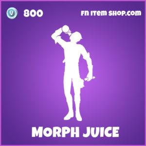 Morph Juice epic Fortnite emote