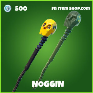 Noggin uncommon fortnite pickaxe