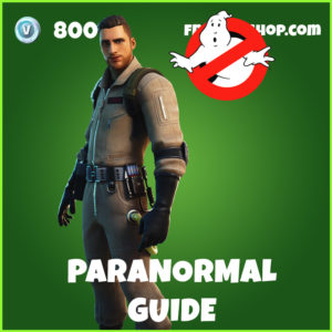 Paranormal Guide Fortnite Ghostbusters Skin