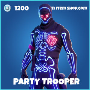 Party Trooper rare fortnite skin