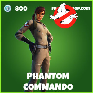 Phantom Commando Fortnite Ghostbusters Skin