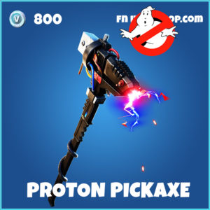 Proton Pickaxe fortnite Ghostbusters pickaxe