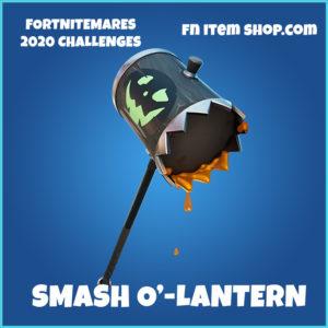 Smash O'-Lantern rare Fortnite pickaxe