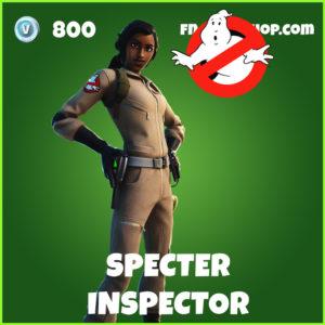 Specter Inspector Fortnite Ghostbusters Skin