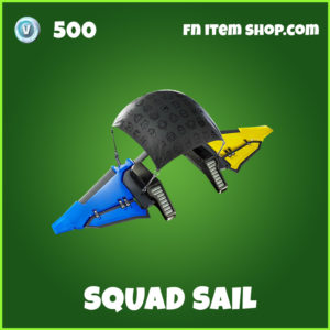Squad Sail Fortnite Glider