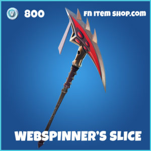 Webspinner's Slice FOrtnite pickaxe