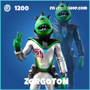 Zorgoton fortnite skin
