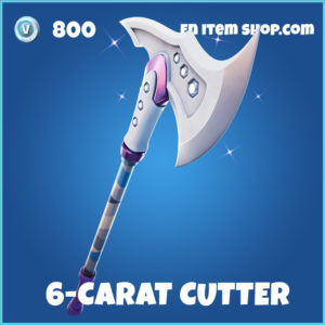 6-Carat Cutter rare Fortnite pickaxe
