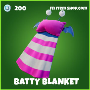 Batty Blanket Fortnite Backpack Backbling