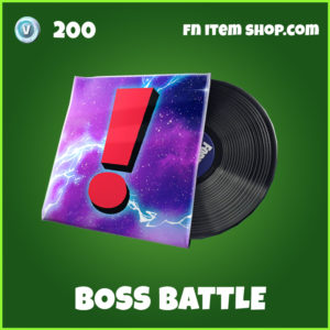 Boss Battle fortnite music pack