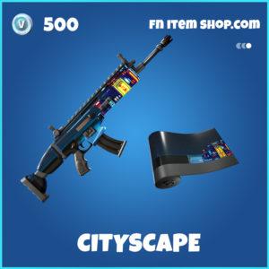 Cityscape Fortnite Wrap