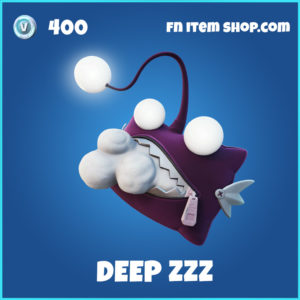 Deep Zzz Fortnite Backpack Backbling