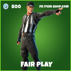 Fair Play Fortnite Skin