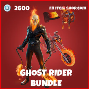 Ghost Rider Bundle Fortnite Ghost Rider Marvel Item Pack