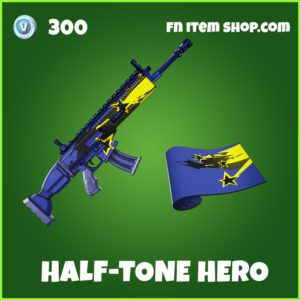 Half-Tone Hero Fortnite Wrap