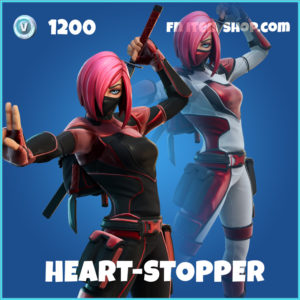 Heart-Stopper rare Fortnite Skin