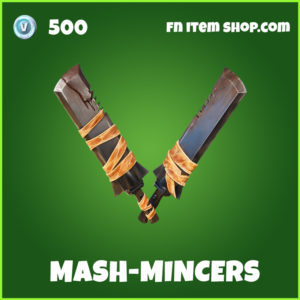 Mash-Mincers uncommon Fortnite pickaxe