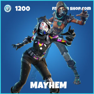 Mayhem rare fortnite skin