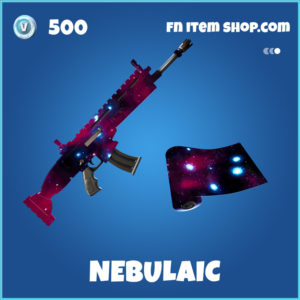 Nebulaic Fortnite Wrap