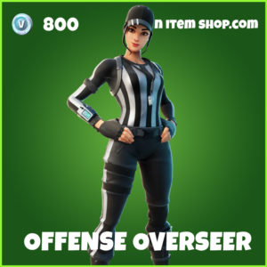 Offense Overseer Fortnite Skin