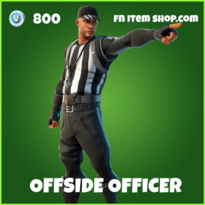 Offside Officer Fortnite Skin