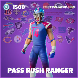 Pass Rush Ranger Fortnite Skin