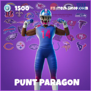 Punt Paragon Fortnite Skin