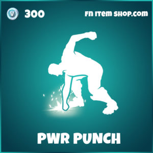 PWR Punch Emote Fortnite Lachlan Emote