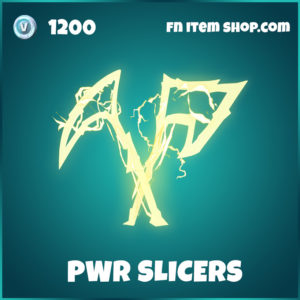 PWR Slicers Lachlan Fornite Pickaxes