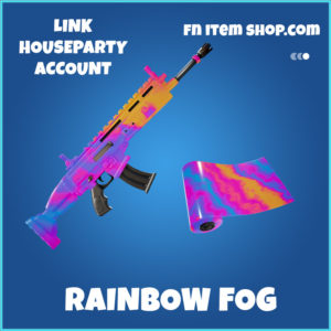 Rainbow Fog rare fortnite wrap
