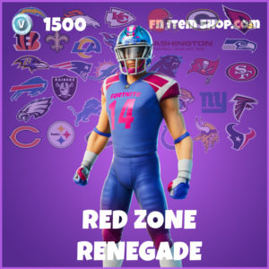 Red Zone Renegade Fortnite Skin