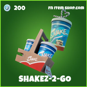 Shakez-2-Go Fortnite Backpack Backbling