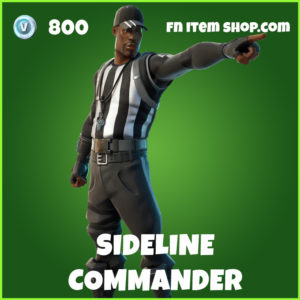 Sideline Commander Fortnite Skin