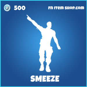 Smeeze rare fortnite emote