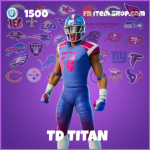 TD Titan Fortnite Skin