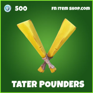 Tater Pounders fortnite pickaxe