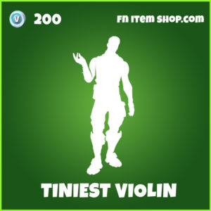 Tiniest Violin Fortnite Emote