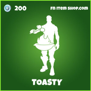 Toasty uncommon fortnite emote