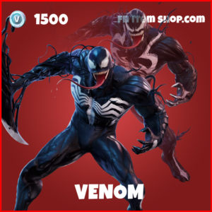 Venom Marvel Fortnite Skin