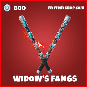 Widow's Fangs Black Widow Fortnite Pickaxe