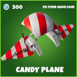 Candy Plane uncommon fortnite Glider