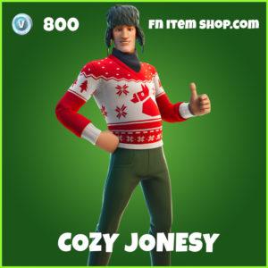 Cozy Jonesy uncommon fortnite skin