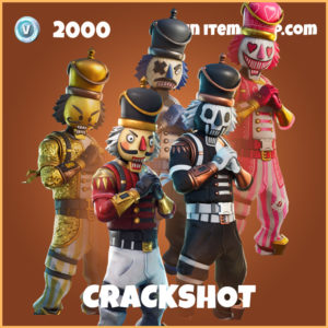 Crackshot legendary fortnite skin
