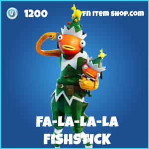 Fa-la-la-la Fishstick rare fortnite skin