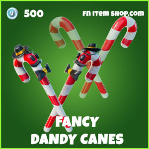 Fancy Dandy Canes uncommon Fortnite Pickaxe