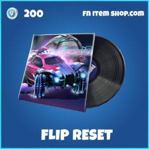 Flip Reset rare Fortnite Music Pack
