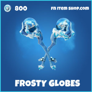 Frosty Globes rare fortnite pickaxe