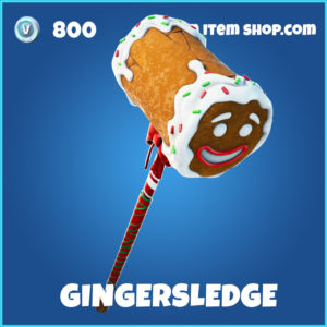 Gingersledge rare fortnite pickaxe