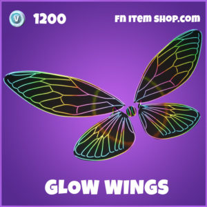 Glow Wings Epic Fortnite Glider